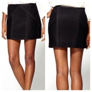Free People Vegan Leather Mini Skirt 10